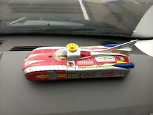 rare battery operated space car