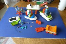 space toy lot 1960s japan robot