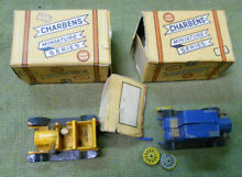 charbens d484 two 2 model cars boxes not