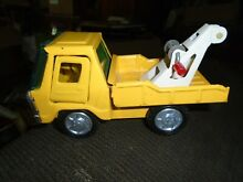 bandi tow truck toy pressed metal line