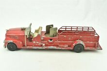 hubley fire engine truck 520 aerial