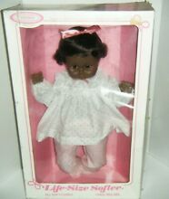 horsman life size softee doll in box