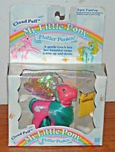 my little pony g1 flutter ponies cloud puff in