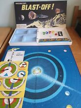 waddingtons blast off blast off space board game by