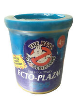ecto plazm ghostbusters blue can rare new