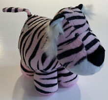 russ berrie pink tiger silver heart plus 8