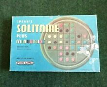 spears game 1970 solitaire board game spears