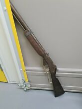 1960 s pull lever noise maker toy rifle