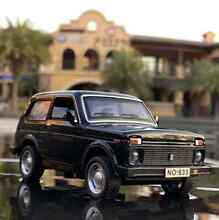 lada niva 1 32 russian 4x4 car alloy model