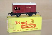 t gauge triang t78 t br maroon horse box