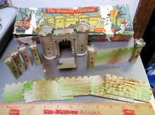 crescent fortress tin castle walls w working