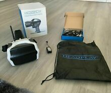 rc plane headplay fpv goggles 5 8ghz battery