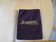 scrabble deluxe replacement embroidered