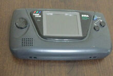 sega game gear handheld console working but