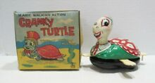 mikuni magic walking action cranky turtle