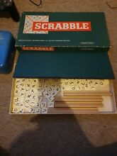 scrabble 1960 s board game by spears