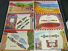 remco showboat pinocchio theater play set