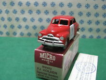 micro models holden fj special fire chief mm402