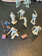 1950 marx toy 60mm pirate figures plus 2