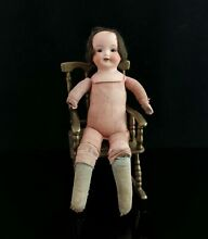 bisque doll bisque head doll girl small soft