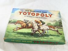 waddingtons totopoly game race horses great