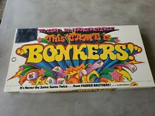 bonkers game this game is bonkers 1978 parker