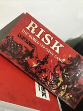 risk parker s board game red box 1963