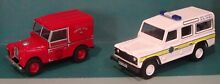 oxford diecast land rover x 2 marshall tractor 1
