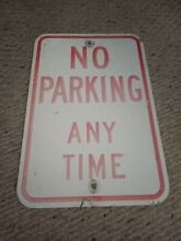road sign real road street highway no parking