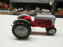 hubley 1960 s ford 4000 red gray tractor 3