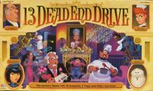 13 dead end drive board game replacement pieces parts