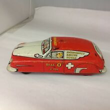 rare emergency rescue squad car 260