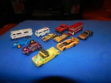lot of 11 assorted 1 64 scale cars