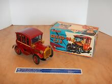 1960s battery operated tin litho