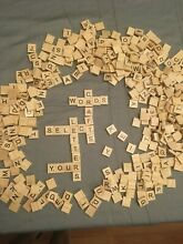 scrabble or craft tiles single replacement