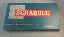 scrabble 1960 s by spears games complete