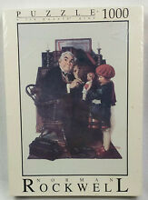 norman rockwell puzzle 1000 pc puzzle doctor doll 26 75 x