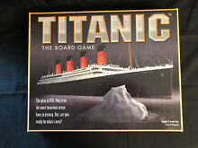 titanic board game complete 1998