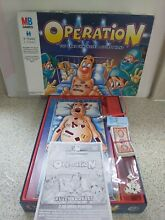 operation game operation board game by mb 2004
