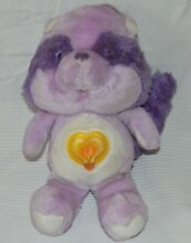 care bears peluche bisounours cousins racoon