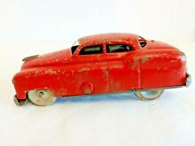 alps tin car red japan as is 14398