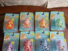 care bears lot 12 clip ons poseable figures