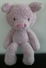 gund fuzzy pink 14 inches approx cute