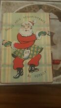 music box old musical wind up christmas card