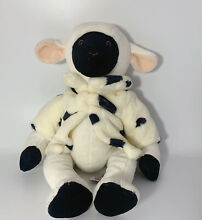 russ berrie lamb sheep w cow coat collection