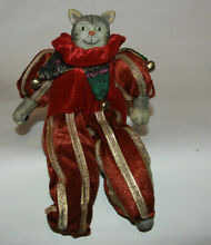 russ berrie a royal winterfest by poseable cat