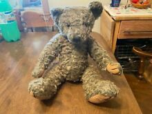 russ berrie signed teddy bear fully jointed 16