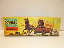 pioneer covered horse wagon mib