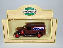 lledo promotional models brown snickers