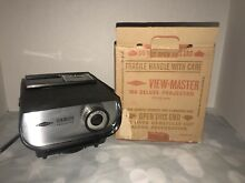 view master viewmaster projector
